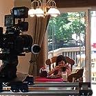 Lindsey Lamer on set of Zer0Tolerance.