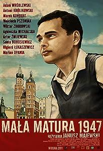 Best site to watch good quality movies Mala matura 1947 by Janusz Majewski [BDRip]