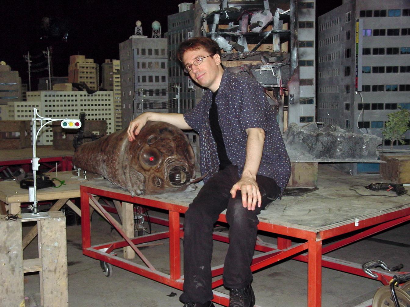 Norman England in Gojira tai Mosura tai Mekagojira: Tôkyô S.O.S. (2003)