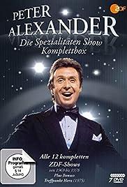 Peter Alexander präsentiert Spezialitäten Poster