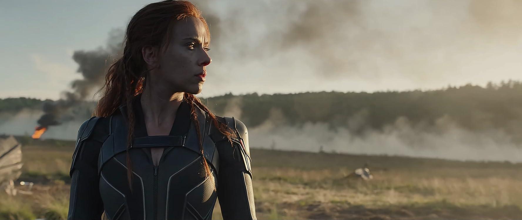 Scarlett Johansson en La viuda negra (2020)