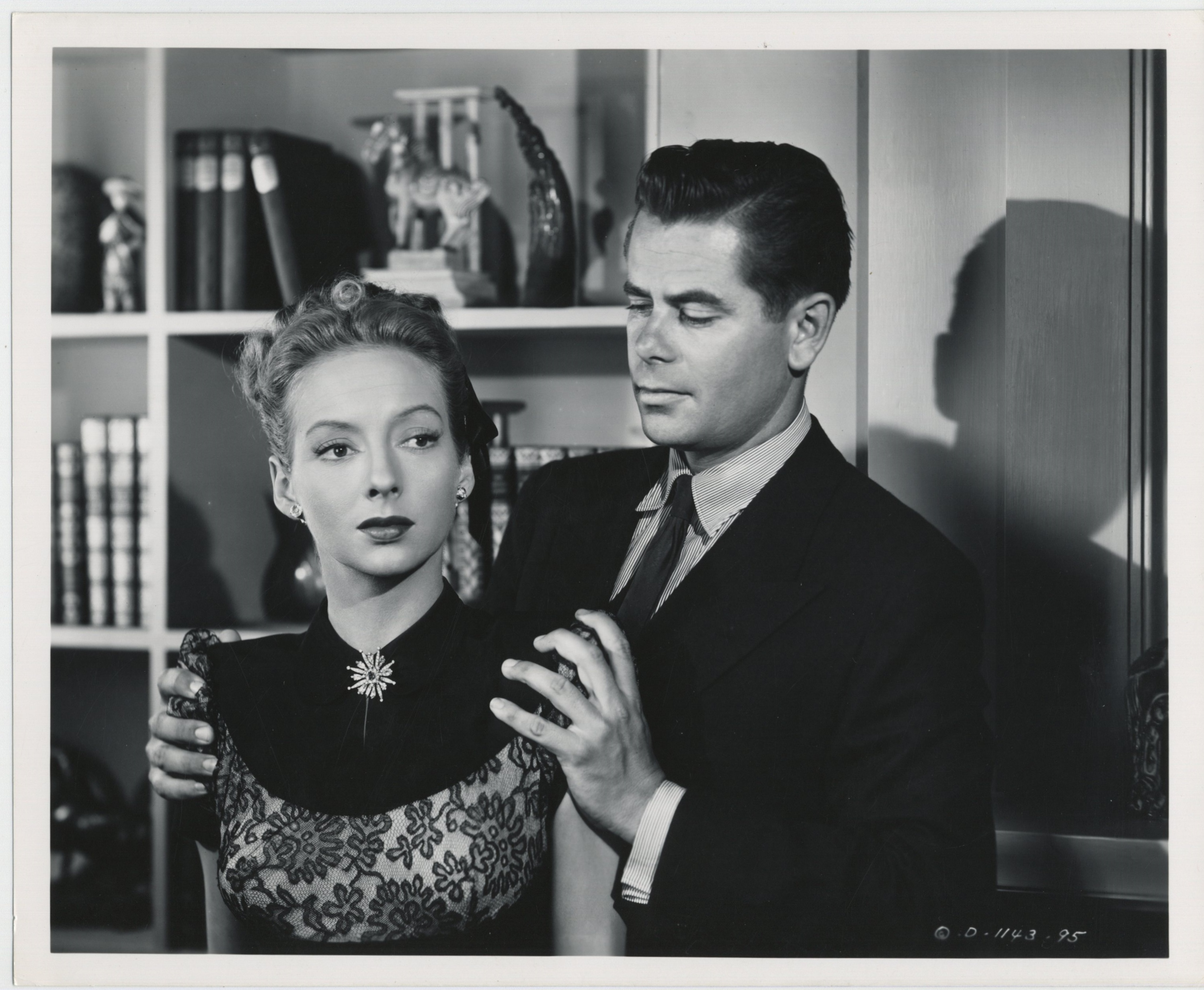 Glenn Ford and Evelyn Keyes in The Mating of Millie (1948)