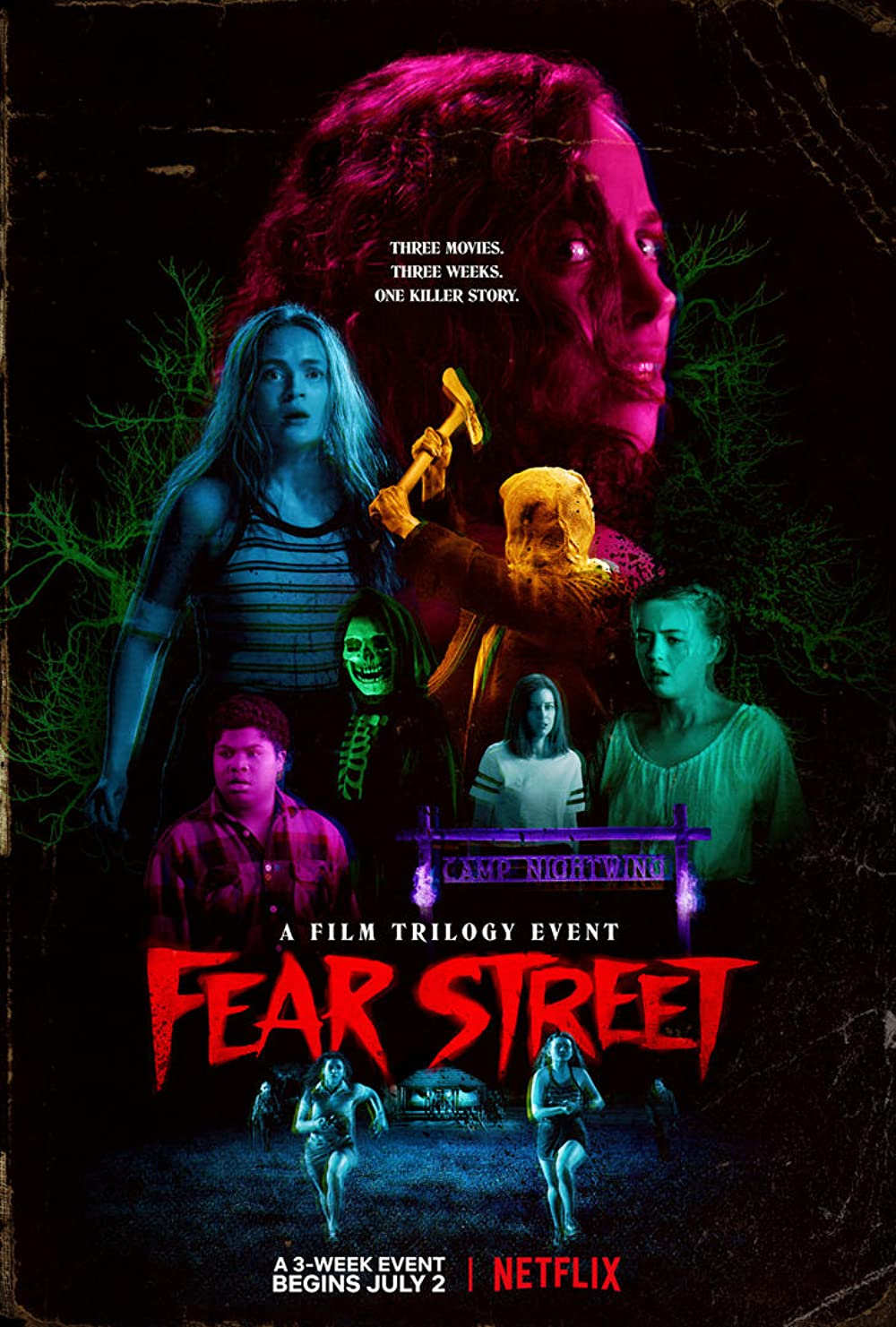 Fear Street Part One 1994 (2021) Hindi ORG Dual Audio 720p NF HDRip MSub 750MB Download