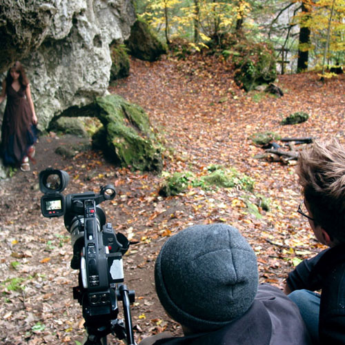 Elyse Bellamy, Daniel Gilbert, and Christopher Dreisbach in The Nightingale Princess (2006)