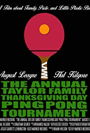 The Annual Taylor Family Thanksgiving Day Ping Pong Tournament Poster