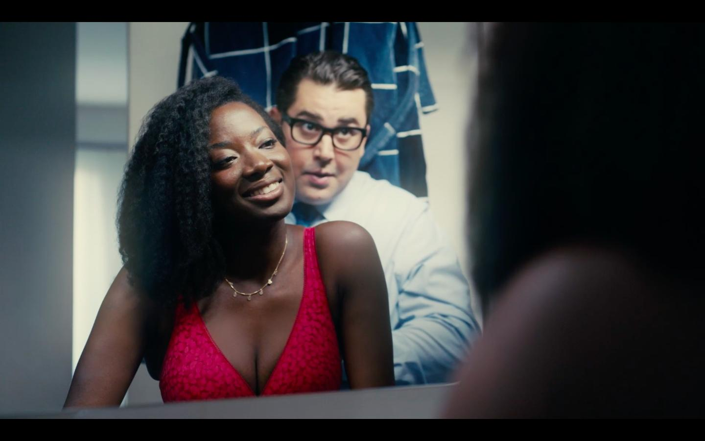 Victor Artus Solaro and Anne-Marie Agbodji in Le Bureau des Légendes (2015)