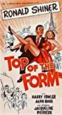 Top of the Form (1953) Poster