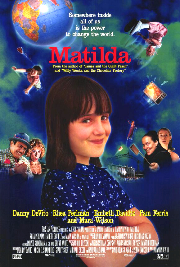 Matilda 1996 Movie BRRip Dual Audio Hindi Eng 300mb 480p 900mb 720p
