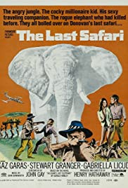 The Last Safari (1967) Poster - Movie Forum, Cast, Reviews