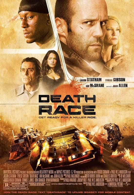Death Race (2008) Hindi Dubbed