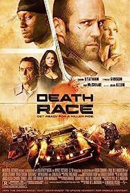Joan Allen, Jason Statham, Ian McShane, Tyrese Gibson, and Natalie Martinez in Death Race (2008)