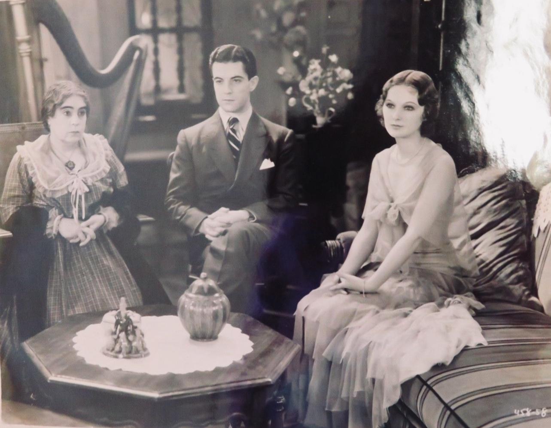 Ramon Novarro, Dorothy Jordan, and Beryl Mercer in In Gay Madrid (1930)