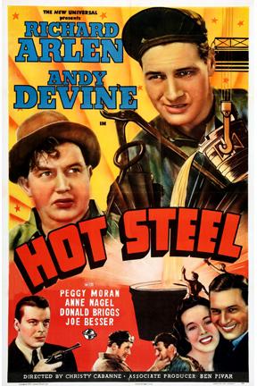 Christy Cabanne Hot Steel Movie