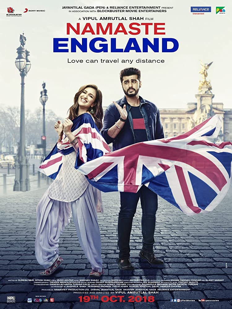 Namaste England (2018) Hindi 350MB Pre-DVDRip 480p x264