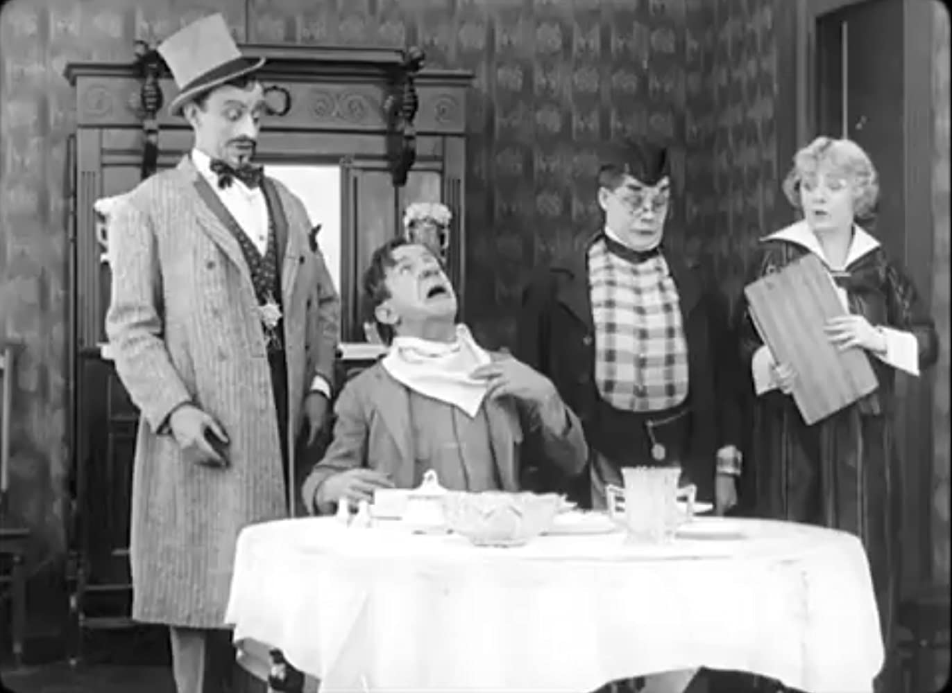 Dan Crimmins, H.H. McCullum, and Harry Watson in Just Imagination (1916)