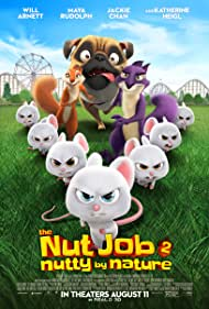 Jackie Chan, Katherine Heigl, Will Arnett, and Maya Rudolph in The Nut Job 2: Nutty by Nature (2017)