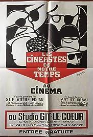 Cinéastes de notre temps Poster