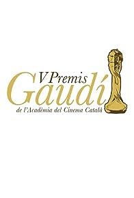 Primary photo for V Premis Gaudí de l'Acadèmia del Cinema Català