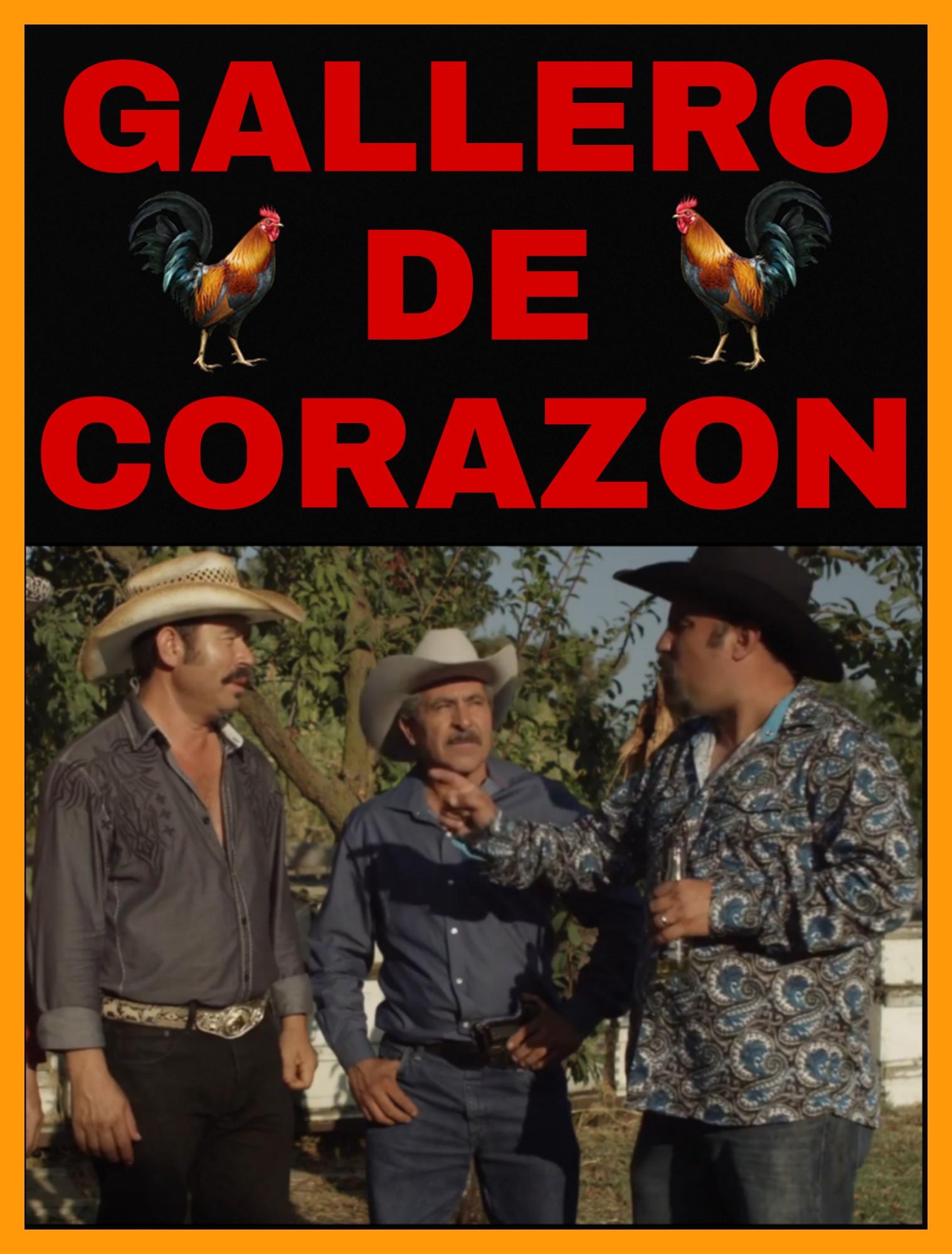 Luis Huizar, Chuy Valencia El Cotija, and Jose Ramirez Raya in Gallero De Corazon (2018)