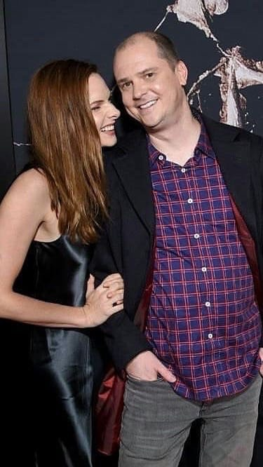 Rebecca Ferguson and Mike Flanagan