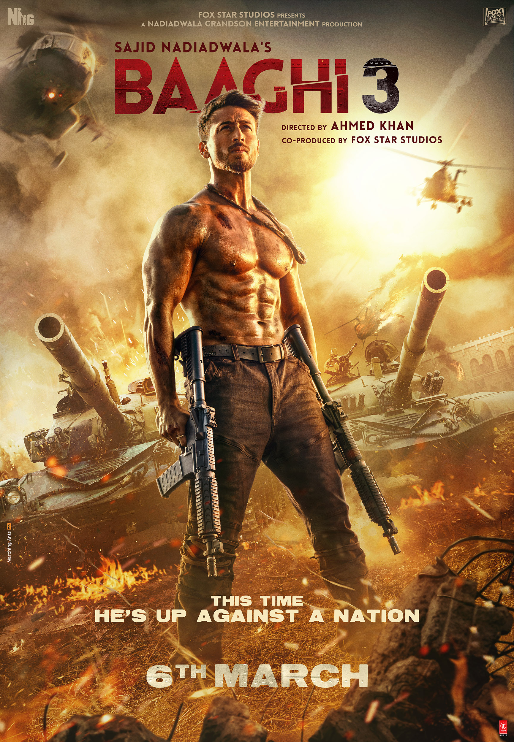 Baaghi 3 full movie download in hd 1080p