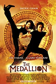 Jackie Chan and Claire Forlani in The Medallion (2003)