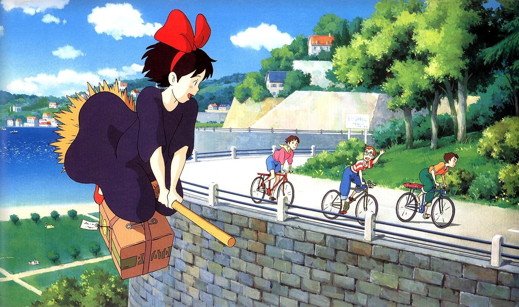 Kết quả hình ảnh cho Majo no Takkyuubin (Kiki's Delivery Service)