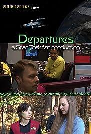 Departures: A Star Trek Fan Production Poster
