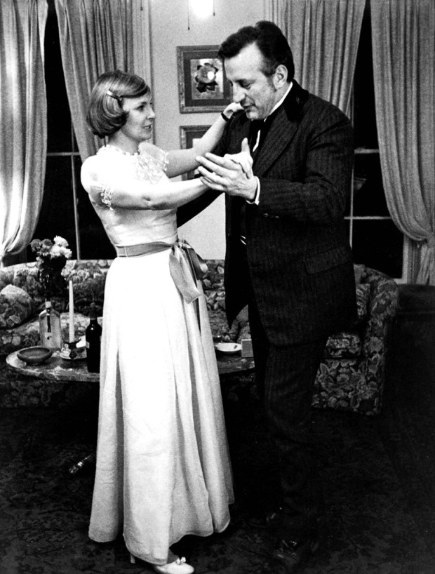 George C. Scott and Joanne Woodward in They Might Be Giants (1971)