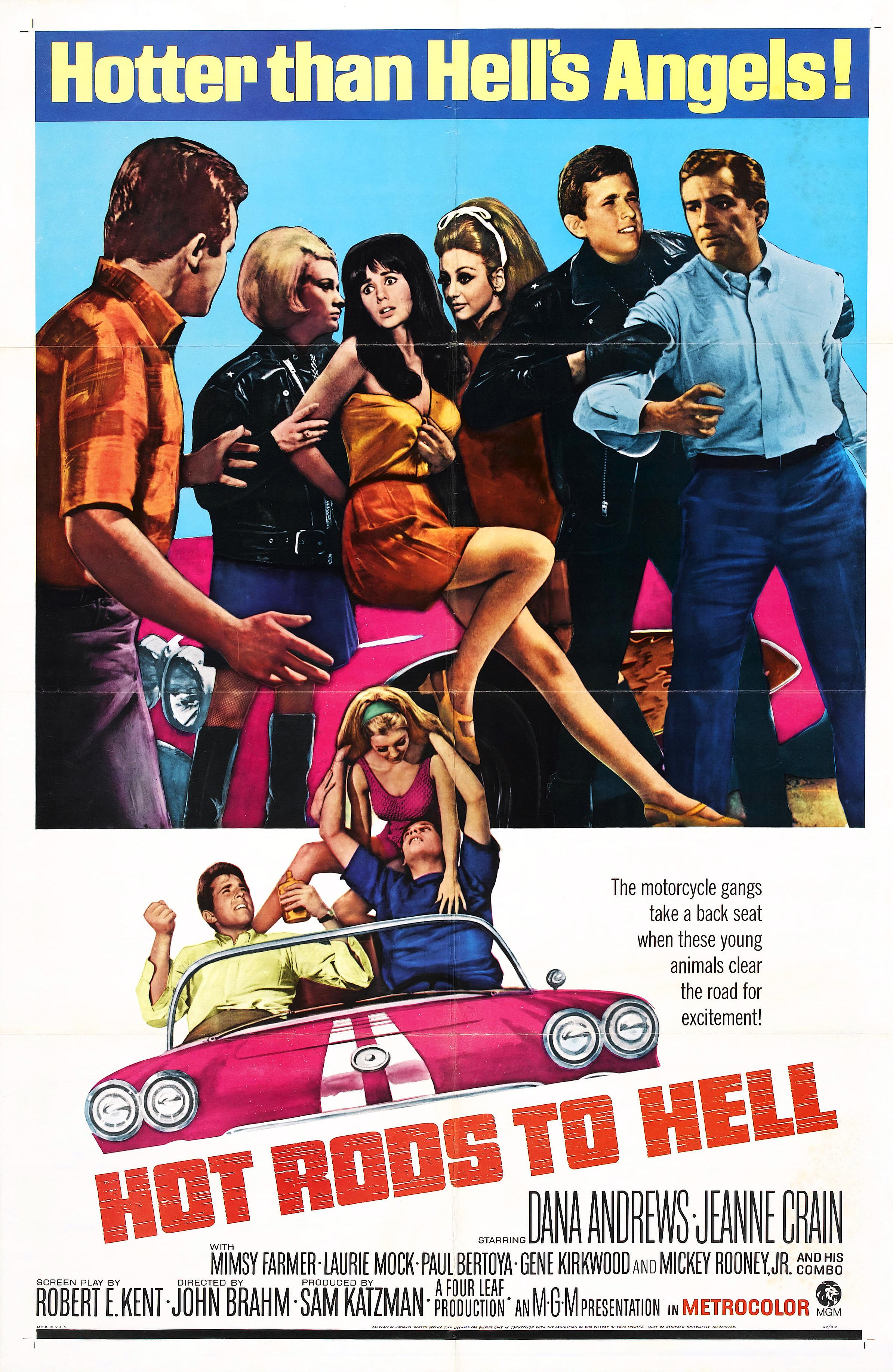 Hot Rods To Hell 1967 Imdb Phillips 7 Pin Trailer Connector Wiring Diagram
