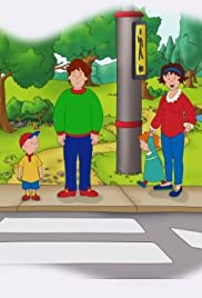 Safety First Caillou Poster
