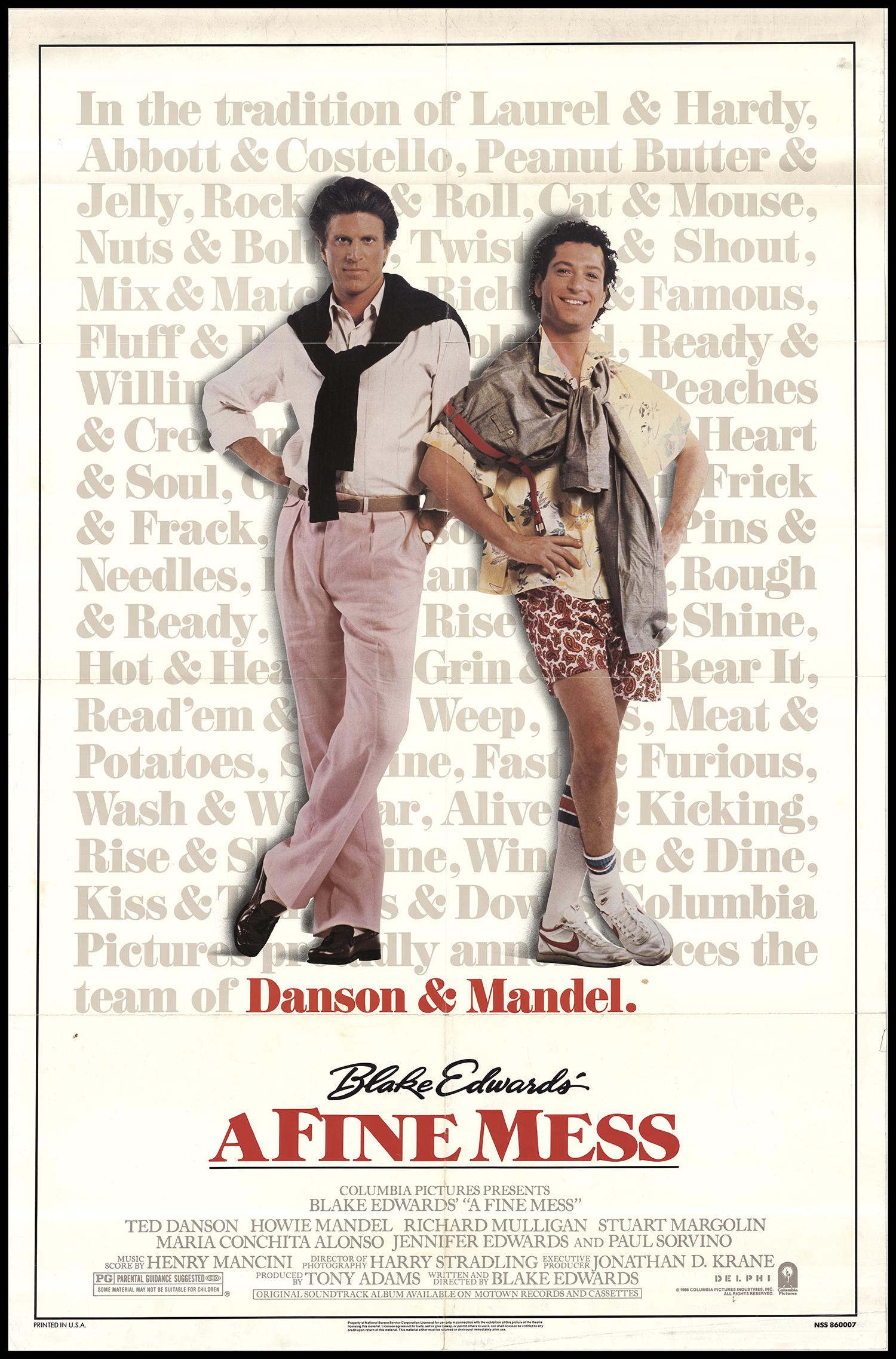 A Fine Mess (1986)