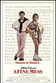 A Fine Mess (1986) Poster - Movie Forum, Cast, Reviews