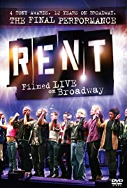 Rent: Filmed Live on Broadway (2008) Poster - Movie Forum, Cast, Reviews