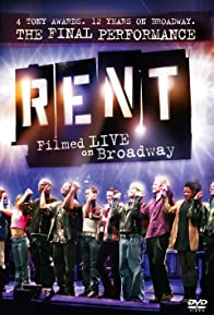 Primary photo for Rent: Filmed Live on Broadway