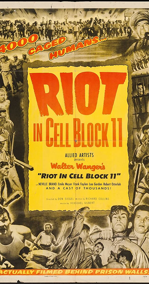 Subtitle of Riot in Cell Block 11
