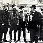 Alan Hale, Douglas Kennedy, Joel McCrea, and Zachary Scott in South of St. Louis (1949)