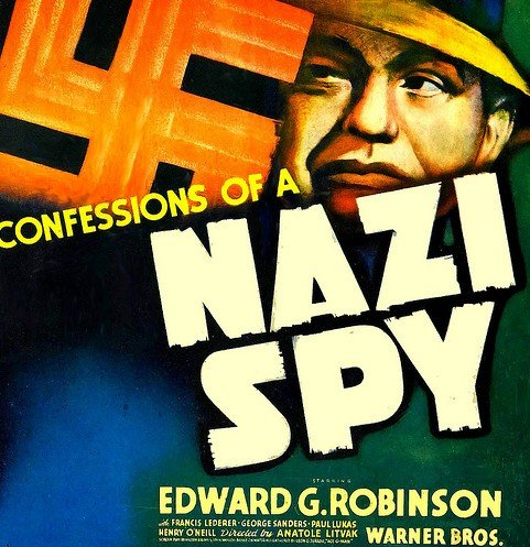 Image result for confessions of a nazi spy