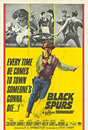 Black Spurs (1965) Poster - Movie Forum, Cast, Reviews