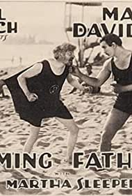 Max Davidson, Charles King, and Martha Sleeper in Flaming Fathers (1927)