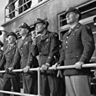 Clark Gable, Charles Bickford, Brian Donlevy, Walter Pidgeon, and Clinton Sundberg in Command Decision (1948)