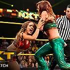 Rebecca Quin and Sasha Banks in WWE NXT (2010)