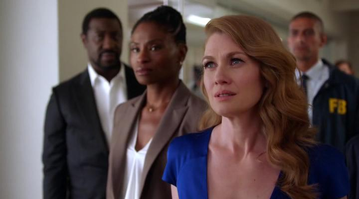 Mireille Enos, Adina Porter, and Jacky Ido in The Catch (2016)