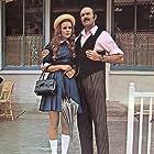 Marthe Keller and Jean-Pierre Marielle in Les caprices de Marie (1970)