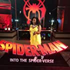 Jessica Mikayla Adams attends Spider-Man Into The Spider Verse Cast Party