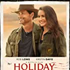 Rob Lowe and Kristin Davis in Christmas in the Wild (2019)