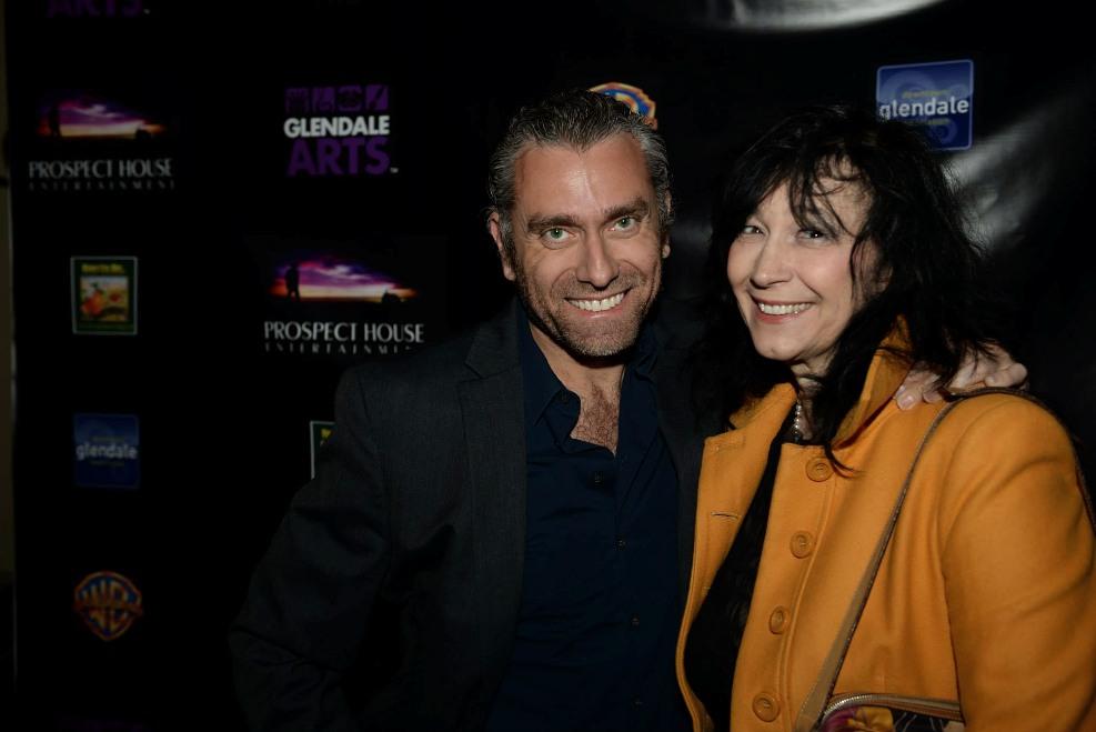 director Max Leonida and producer Paola Cipollina