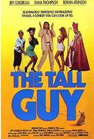 Rowan Atkinson, Jeff Goldblum, Emma Thompson, Kim Thomson, and Emil Wolk in The Tall Guy (1989)