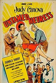 Untamed Heiress Poster