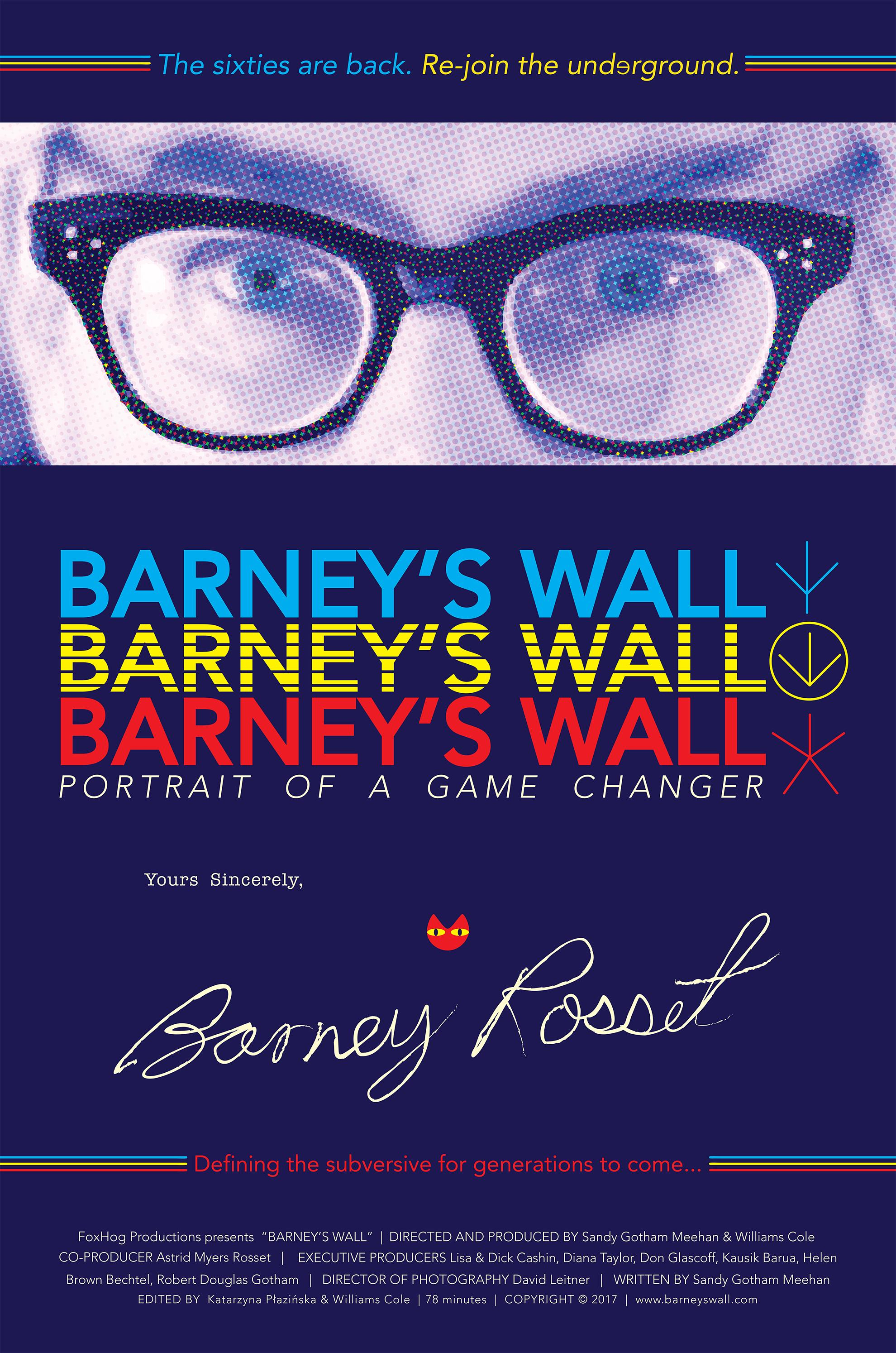 Barney's Wall: Portrait of a Game Changer - IMDb